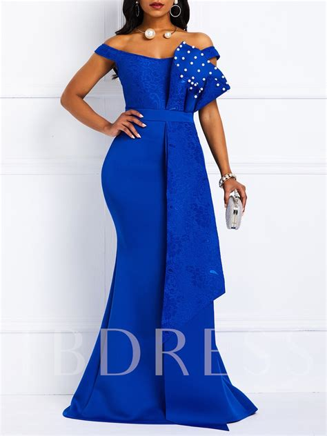 african fashion oblique collar short sleeve lace elegant