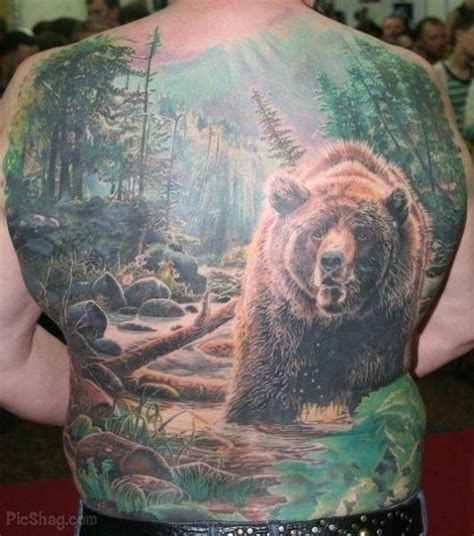 tattoo of us bear backgrounds of body art bear tattoos meaning to the