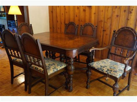 1920 dining room set 1920s antique dining room set central saanich