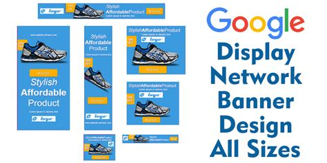 Design Google Display Ads | google display ad banner design in all sizes in 93 only