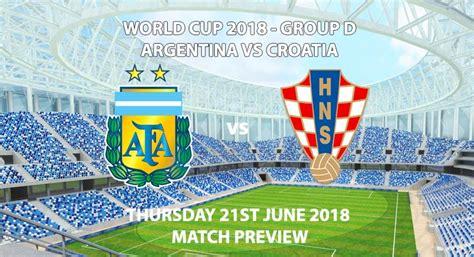 argentina vs croatia match preview betalyst