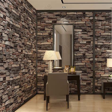 home decor wallpaper china interior design pvc vinyl 3d brick wallpaper wall