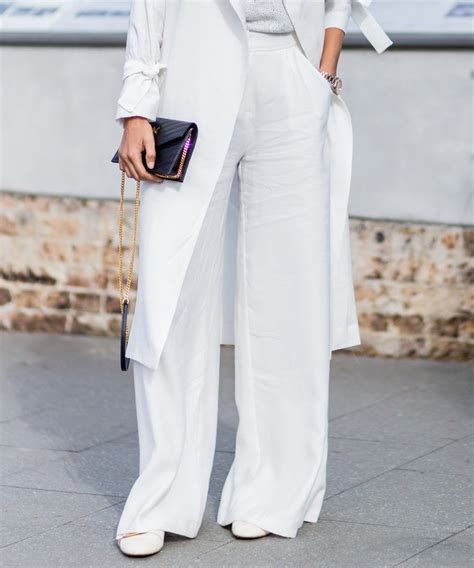 pant leg style 7 ways to wear wide leg pants with flats instyle com