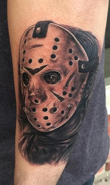 jason tattoos jason voorhees from friday the 13th by daniel