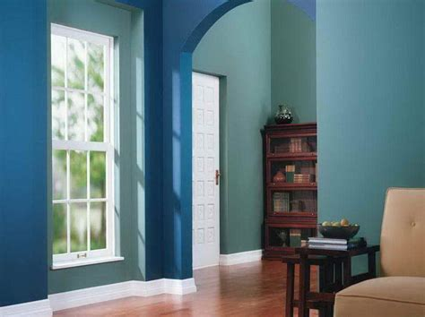 blue interior paint interior blue and green paint ideas for modern interior