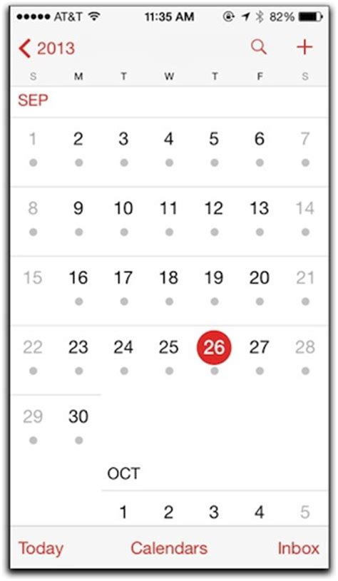 Calendar On Iphone 4 Tips For Using Ios 7 S Calendar On Your Iphone The Mac