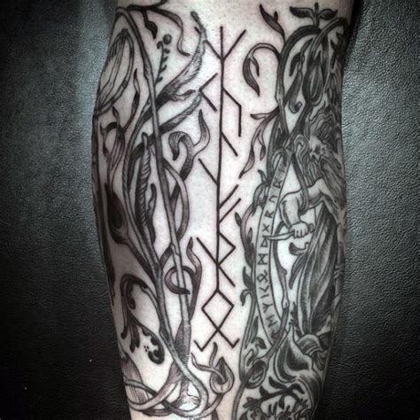 rune tattoo designs 100 norse tattoos for designs