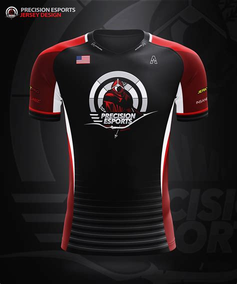 design jersey com akquire clothing co esports team jersey designs on behance