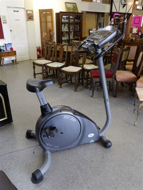 horizon fitness exercise bike bsc 200 home equipment
