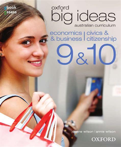 ideas economics oxford big ideas economics business civics
