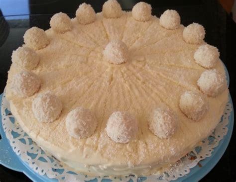 raffaello kuchen rezept einfach raffaello torte rezept ichkoche at