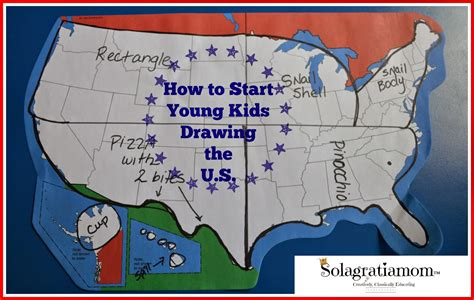usa map drawing solagratiamom how to start drawing the u s