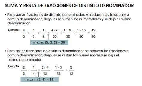 suma y resta de fraccionarios para nios de tercer grado suma y resta de fraccionarios los n 250 meros fraccionarios