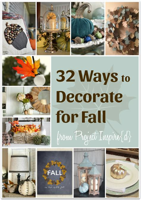 32 delightful ways to decorate your home for fall an
