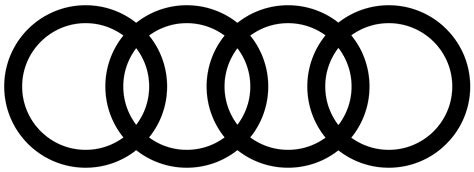 audi logo black and white audi logos brands and logotypes
