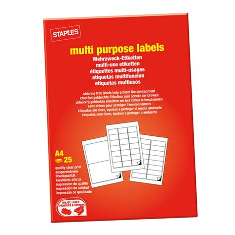 99 1 mm x 38 1 mm label template staples universal labels permanent selvkl 230 bende