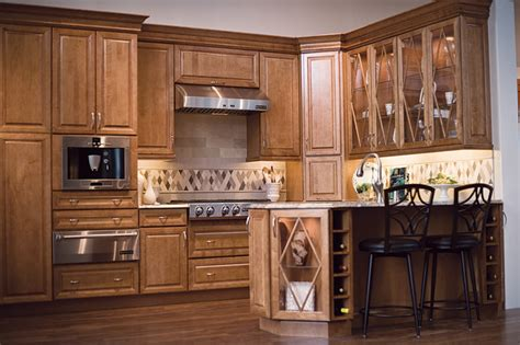 maple praline cabinets
