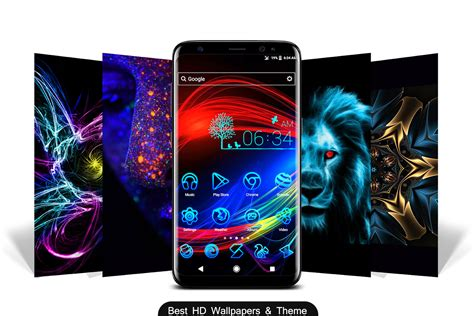 themes app 2018 neon 2 hd wallpapers themes 2018 android apps on
