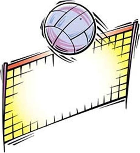 clipart pallavolo rete pallavolo