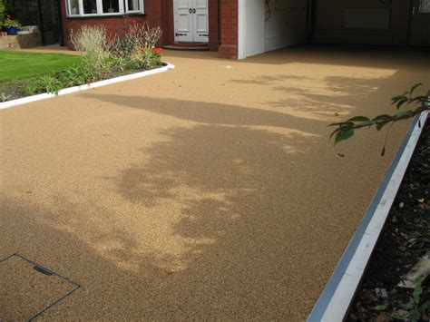 resin bound paving maintenance gravel surface cleaning