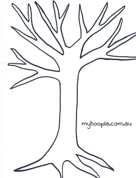 tree template cliparts co