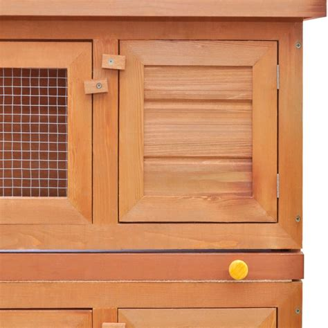 conejera online conejera de exterior jaula de mascota de madera 4