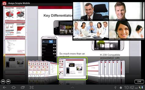 scopia mobile avaya scopia mobile android apps on play