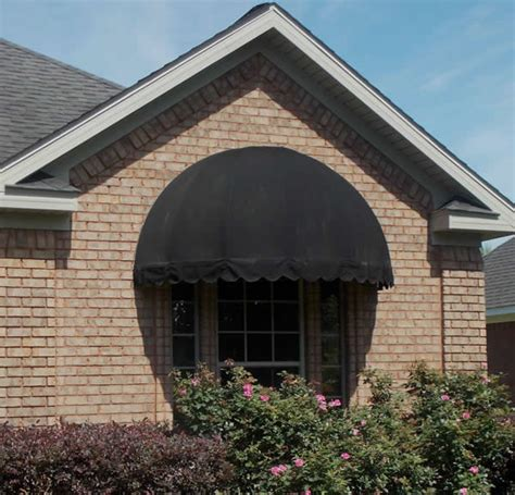 dome awning standard and custom fabric awnings commercial and residential mobile and gulf coast