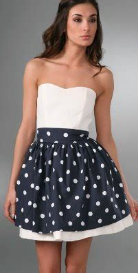 Caroline Polka Dress couture carrie garden glam