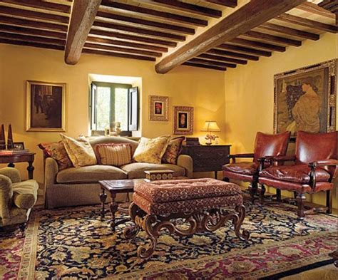 tuscan living room tuscan living room colors with dark wood beams