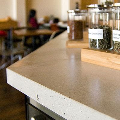 recycled kitchen countertops greener alternatives of concrete countertops ecofriend