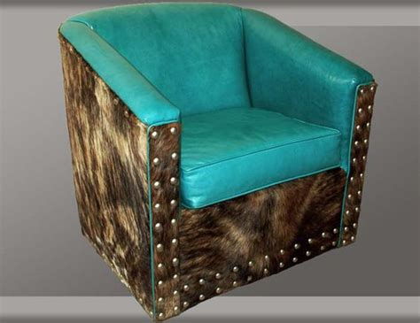 turquoise leather swivel chair turquoise leather swivel glider western accent chairs