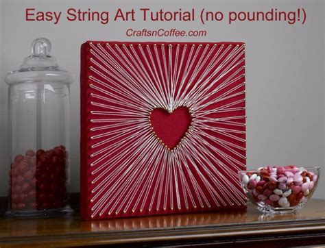 Easy String Designs - 40 insanely creative string projects diy projects