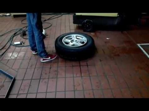 Tiefbett Polieren Anleitung by Scooter Roller Reifen Mit Bremsenreiniger Ins Tiefbett