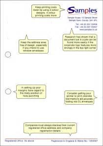 Business Letterhead Template Uk Letterhead Design Info Sheet