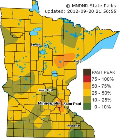 mn dnr fall colors mn dnr fall color map be happy humor things