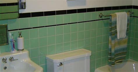 1950 bathroom fixtures 1950 bathroom tile 1950s charm updated 1950s tile work