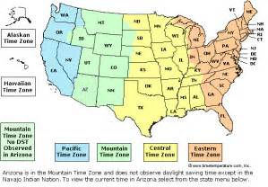 time zone map for america usa times zone map 171 bargain villas cheap villa rental