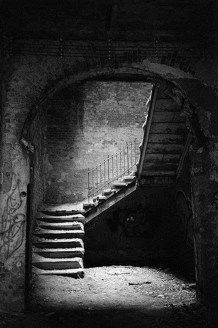 scary creepy beautiful basement stairs basement photo
