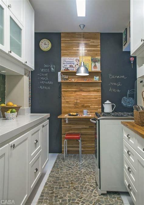 parede lousa na cozinha jeito de casa blog de