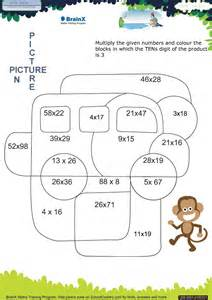 brainx grade3 mini math worksheets for grade 3