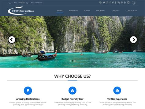 best translate site 10 free tourism themes 2017 themely