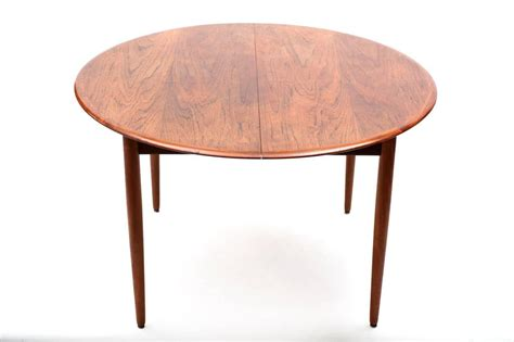 scandinavian extensible dining table 1960s at 1stdibs