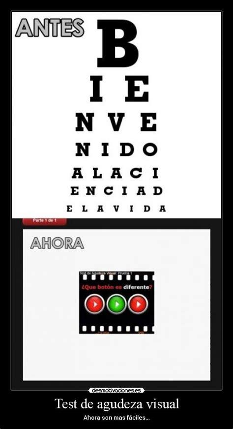 imagenes test visual test de agudeza visual desmotivaciones