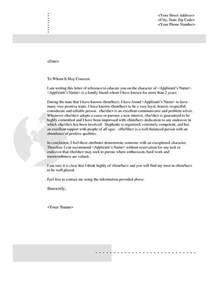 characteristics of a cover letter 25 best ideas about reference letter on work