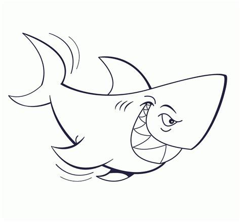 Imagenes Para Colorear Tiburon | dibujos de tiburones para colorear dibujoswiki com