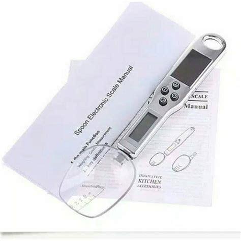 Exclusive Supplier Sendok Takaran 5 In 1 Sendok Takaran Set Terlaris timbangan sendok digital ukuran bahan tepat makin lezat