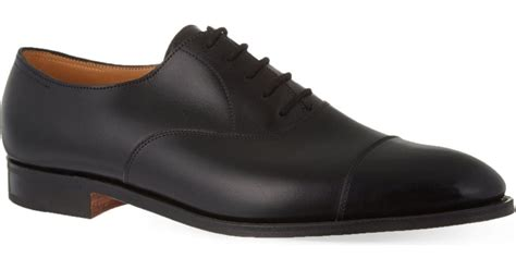 lobb oxford shoes lobb city ii oxford shoes in black for lyst