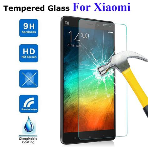 Tempered Glass Xiaomi Redmi 2 Forcia 9h tempered glass for xiaomi redmi note 3 pro 4 2 redmi 3s 3 2 pro mi5 mi4 mi4c mi4s screen