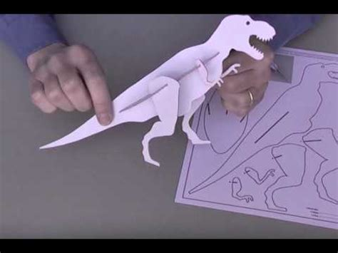 How To Make A Dinosaur Model From Paper Mache - dinosaur free model
